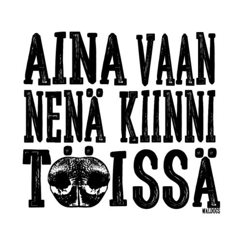 Nose Work Nenä Kiinni 2 - Miesten premium t-paita