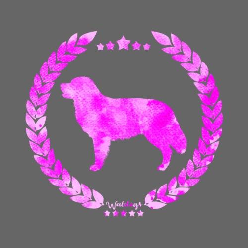 Bernese Army Pink - Miesten premium t-paita