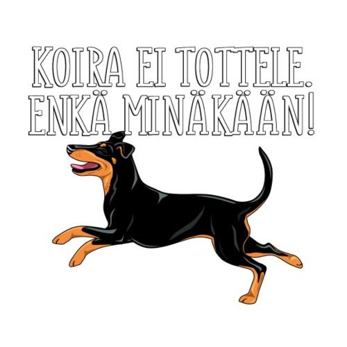 Manssi Tottele - Miesten premium t-paita