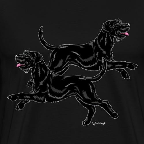 Riesenschnauzer Pair - Men's Premium T-Shirt
