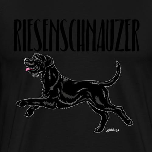 Riesenschnauzer 02 - Men's Premium T-Shirt