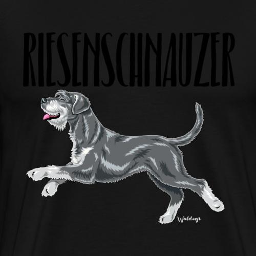 Riesenschnauzer 01 - Men's Premium T-Shirt
