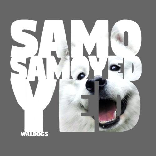 NASSU Samoyed - Miesten premium t-paita