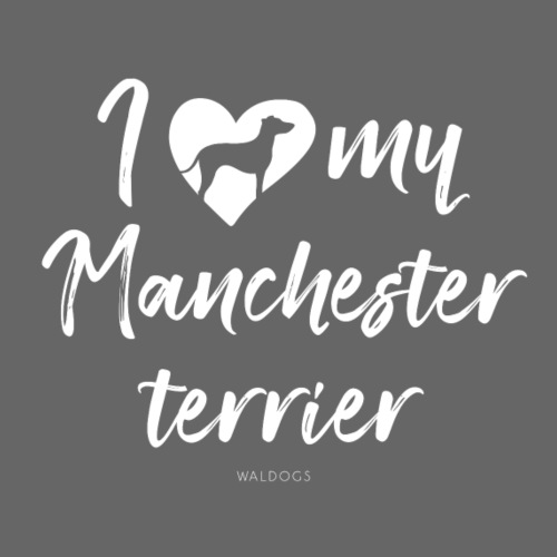 My Manchester Terrier - Miesten premium t-paita