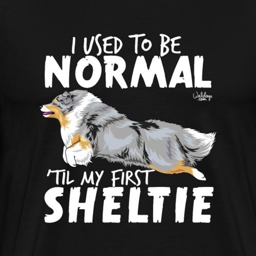 sheltienormal - Men's Premium T-Shirt