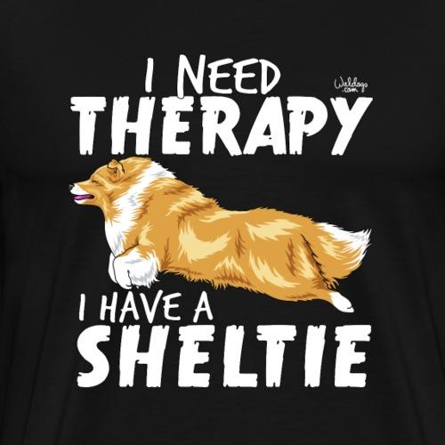 sheltietherapy - Men's Premium T-Shirt