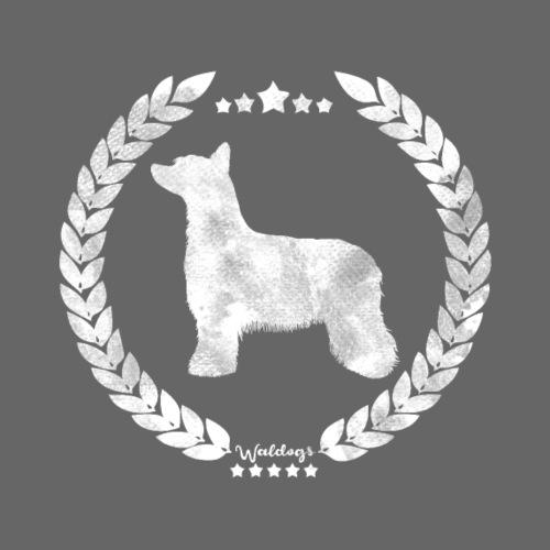 Powderpuff Army Grey - Miesten premium t-paita