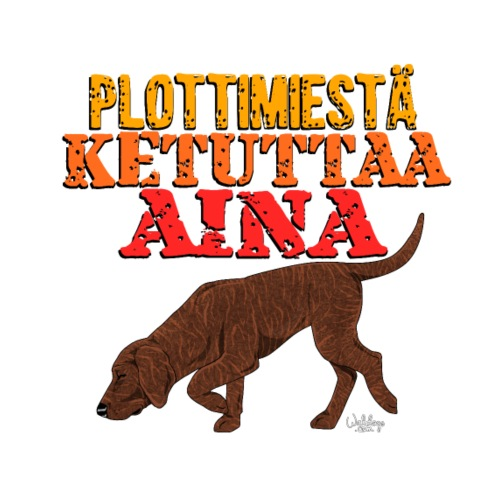 plottimiesketuttaa - Miesten premium t-paita