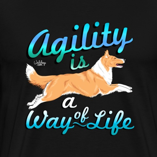 colliewayoflife3 - Men's Premium T-Shirt