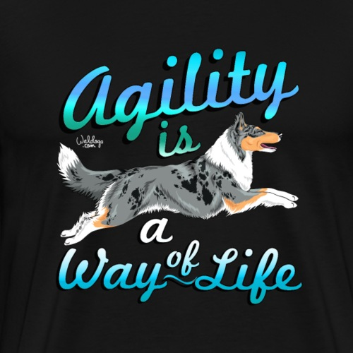 colliewayoflife - Men's Premium T-Shirt