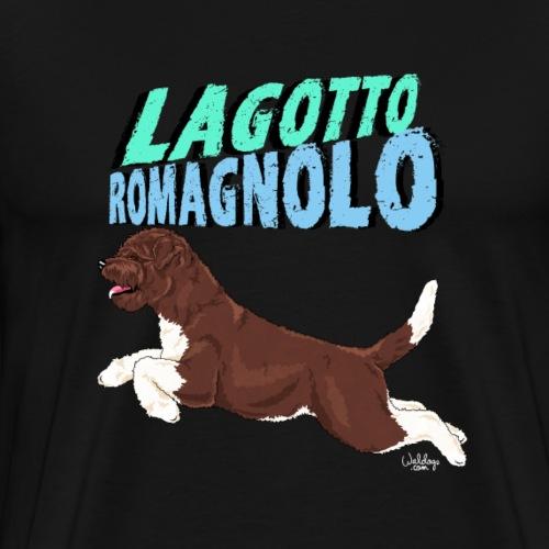 lagottoromagnolo4 - Men's Premium T-Shirt