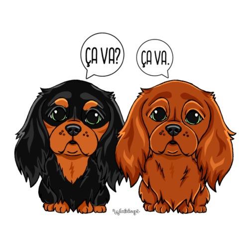 Cavalier Ca Va Ca va 3 - Miesten premium t-paita
