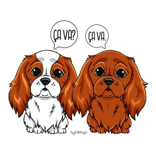 Cavalier Ca Va Ca va 2 - Miesten premium t-paita