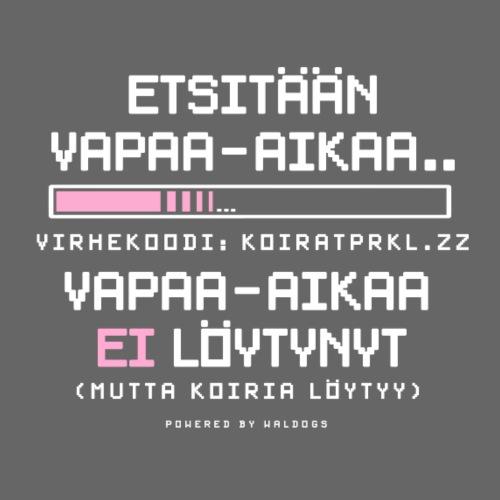 Ei Vapaa-aikaa - Koirat - Miesten premium t-paita