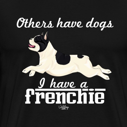 frenchiedogs5 - Men's Premium T-Shirt