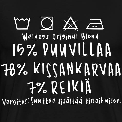 Kissan Omistajan Paita 2 - Miesten premium t-paita
