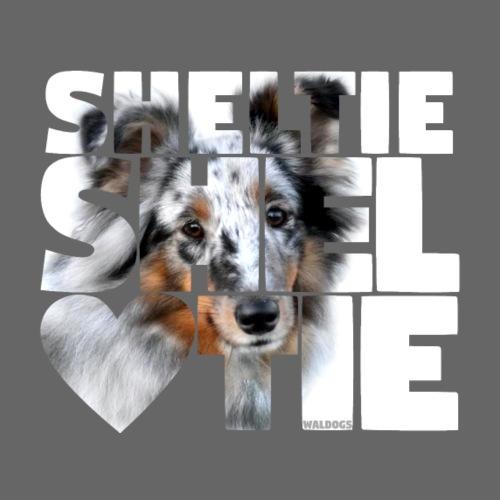 NASSU Sheltie 09 - Miesten premium t-paita