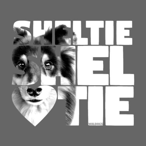 NASSU Sheltie 18 - Miesten premium t-paita