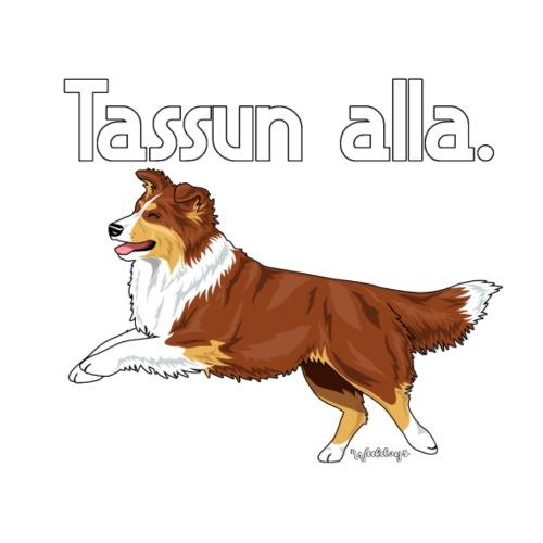 Aussie Tassun Alla 4 - Miesten premium t-paita