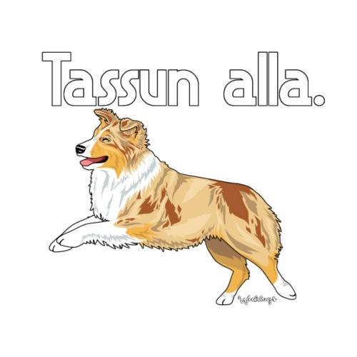 Aussie Tassun Alla 9 - Miesten premium t-paita