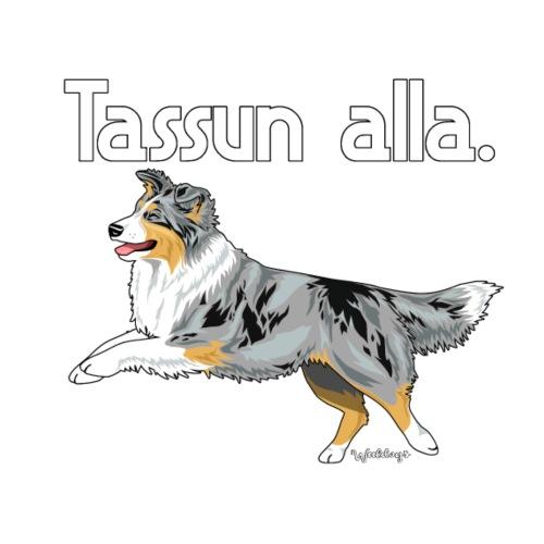 Aussie Tassun Alla 3 - Miesten premium t-paita
