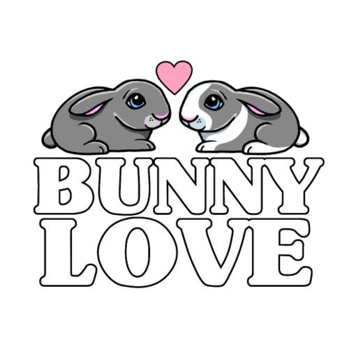 Bunny Love 3 - Miesten premium t-paita