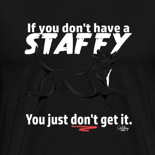 staffygetit4 - Men's Premium T-Shirt