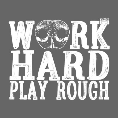 Nose Work Hard 2 - Miesten premium t-paita