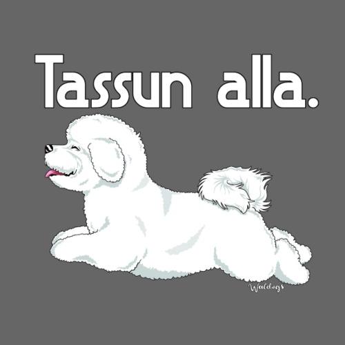 Bichon Tassun Alla - Miesten premium t-paita