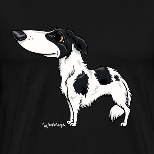 borzoi - Men's Premium T-Shirt