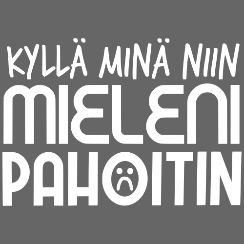 mielenipahoitin - Miesten premium t-paita