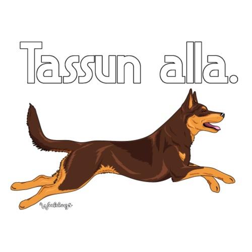 Australian kelpie Tassu - Miesten premium t-paita