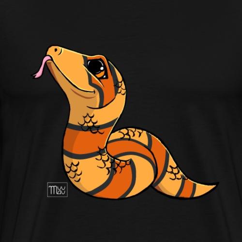 Käärme IV - Miesten premium t-paita