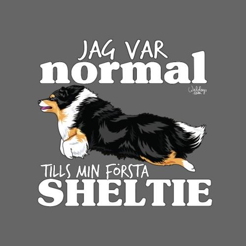 sheltienormalswe2 - Miesten premium t-paita