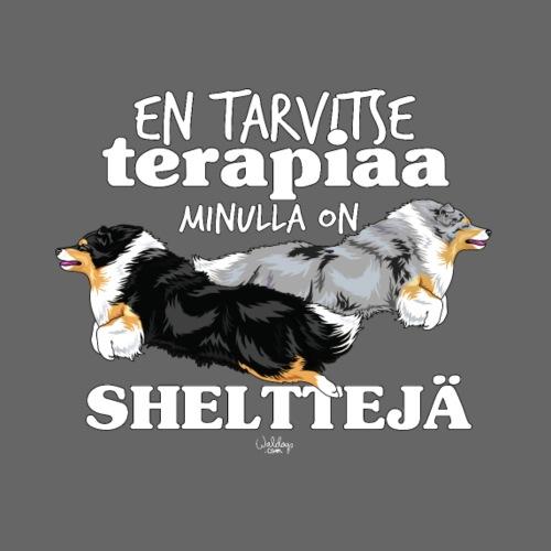 shelttejaterapiaa2 - Miesten premium t-paita