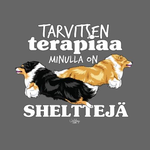 shelttejaterapiaa8 - Miesten premium t-paita