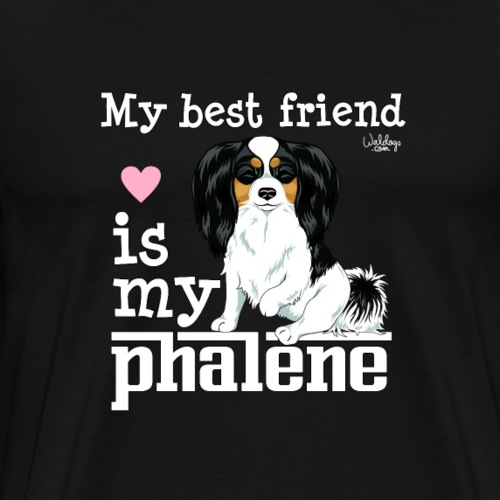 phalenebestfriend2 - Men's Premium T-Shirt