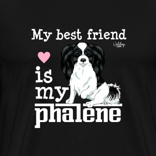 phalenebestfriend - Men's Premium T-Shirt