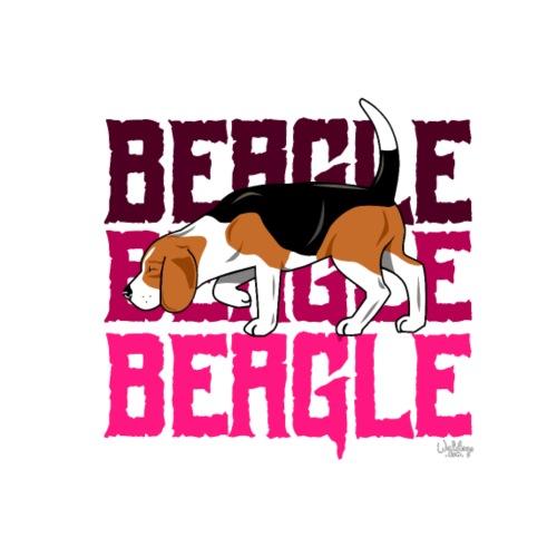 beaglebeaglebeagle2 - Miesten premium t-paita