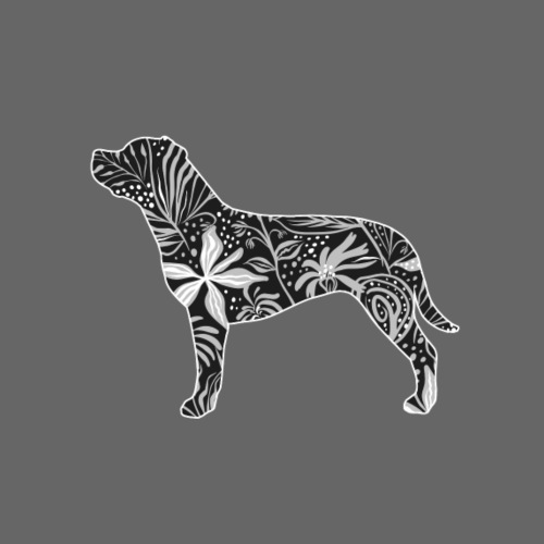 Flower III - Miesten premium t-paita