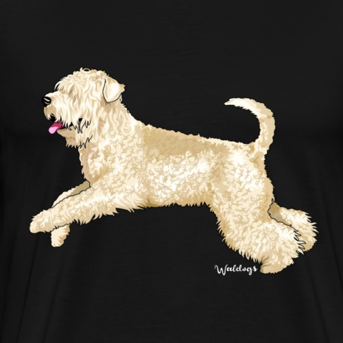 Soft Coated wheaten Terrier - Men's Premium T-Shirt