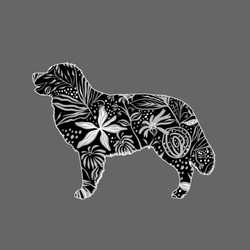 Flower Berner - Miesten premium t-paita