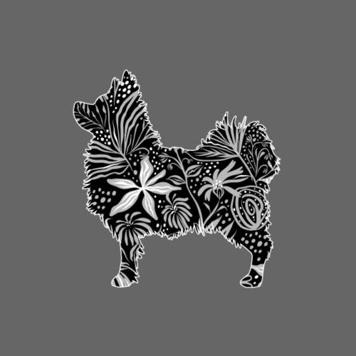 Flower Chihuahua II - Miesten premium t-paita
