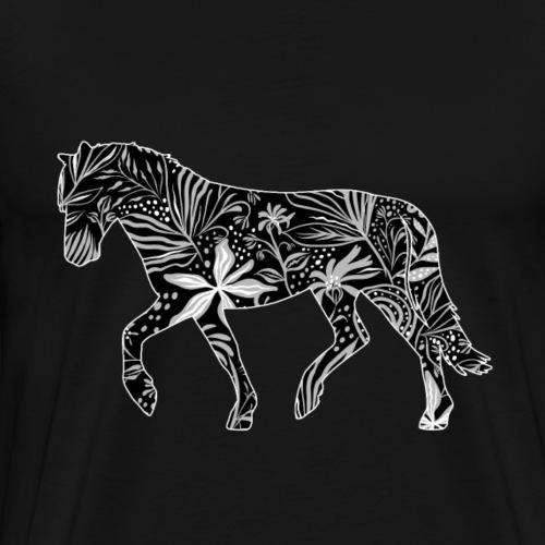 Flower Suokki II - Miesten premium t-paita