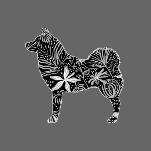 Flower WestSiberian Laik - Miesten premium t-paita