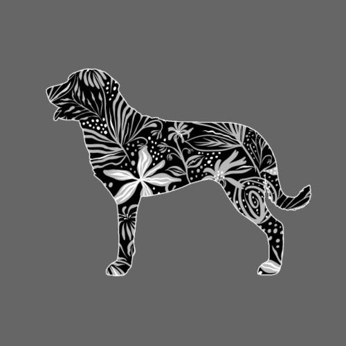 Flower Broholmer - Miesten premium t-paita