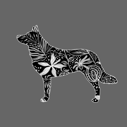 Flower Lapponian Herder - Miesten premium t-paita