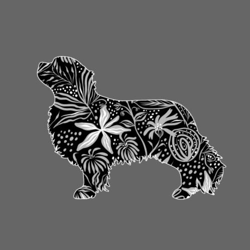 Flower Cavalier - Miesten premium t-paita