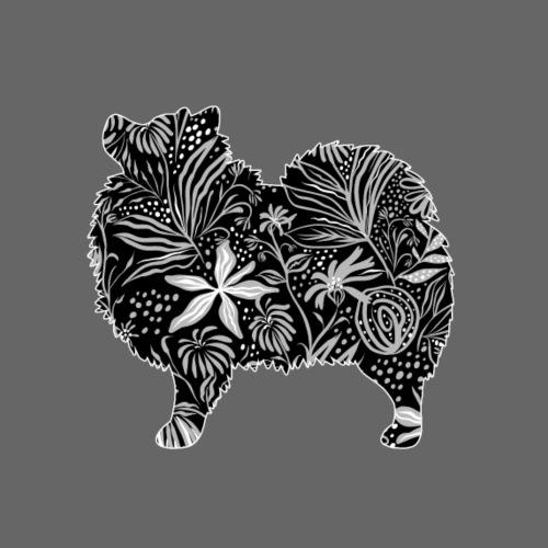 Flower Kleinspitz - Miesten premium t-paita