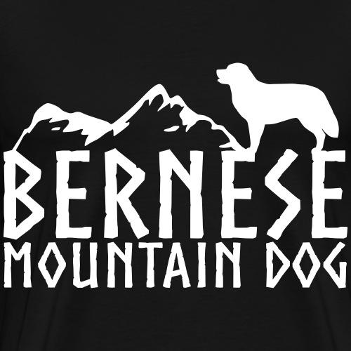 Bernese Mountain Dog 3 - Men's Premium T-Shirt
